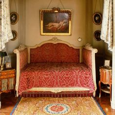 [Blog] How to Decorate in Celebrity Style with Aubusson Rugs: 4 Tips. Moise Camondos private room in Musee Nissim de Camondo, Paris