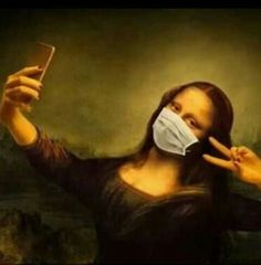Aesthetic Drawing, Aesthetic Art, Le Sourire De Mona Lisa, Mona Lisa Drawing, Drawing Art, Art Drawings, Funny Art, Funny Memes, Don Meme