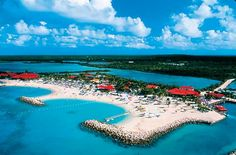 Princess Cays, Bahamas. Our first stop. I'll be posting my actual pictures from the places hopefully soon. :)