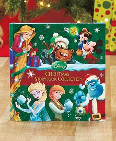 Disney Christmas Storybook Collection gets kids into the seasonal spirit. This new edition of the best-selling book is updated with stories featuring characters