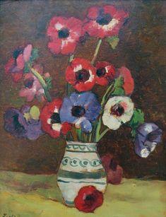Modern Art, World Famous Paintings, European Art, Flower Painting, Mural Painting, Painting, Art, Nature Inspiration, Art World