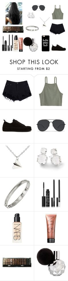 """Sem título #192"" by kristal01-798 ❤ liked on Polyvore featuring Ann Demeulemeester, Ippolita, Shay and NARS Cosmetics"