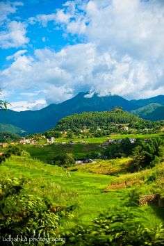 Countryside of Nepal.  Go to www.YourTravelVideos.com or just click on photo for home videos and much more on sites like this.