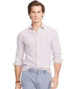 Polo Ralph Lauren Long-Sleeve Oxford Shirt