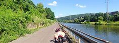 Juli_e_cycle sur la Lorvelo, superbe voie verte le long de la Sarre, Lorraine. #velo #bicyclette #veloelectrique #ebike #vae #tourdefrance #cyclingtour #cyclotourisme #RestartCycleTourism #lorvelo #sarre #saarland #fahrrad #voieverte #cyclingtour #juli_e_cycle #velafrica
