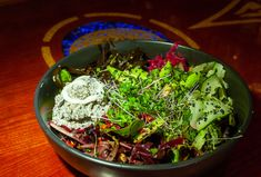 Grass Valley's ELIXART House Salad, Grass Valley, Seaweed Salad, Food Styling, Organic, Ethnic Recipes