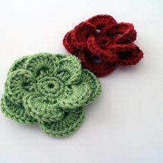 Crochet Flower Pattern: Wagon Wheel Flower: Free Pattern and Video Tutorial