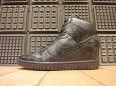 Nike WMNS Dunk Sky Hi Croc & Snakeskin