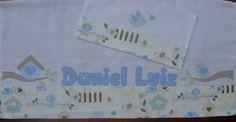 Fraldas personalizadas + paninho de boca