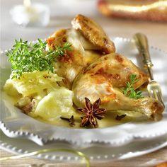 Pollo Al Bourbon, Shrimp, Meat, Chicken, Cooking, Healthy, Food, Gratin, Cooking Recipes