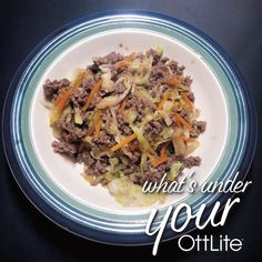 Check out the amazing food that creates under her OttLite. What's under your OttLite? Tag us or hashtag for a chance to be featured! Healthy Eyes, Light Crafts, Desk Light, Study, Lighting, Create, Cooking, Amazing, Check