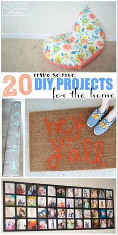 20 awesome DIY projects for the home