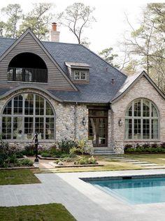 Brick & Stone combination