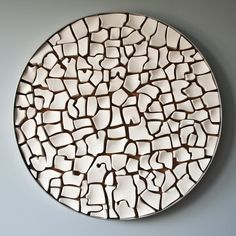 Marie-Andrée Côté - Water in all its states / movement and fragmentation. A mosaic of ceramic boxes.