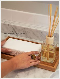 paper hand towels for bathroom. Powder Room Prep. Bathroom TrayDecorative TowelsHand Paper Hand Towels For E