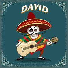 imagenes+dia+de+muertos+calaveritas+musico+con+guitarra+y+nombres+de+hombres+DAVID.png (650×650)