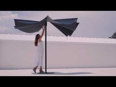 OM sunshade by CALMA. Design: Andreu Carulla | Red Dot award 2015: Best of the Best - YouTube