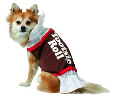 rasta imposta tootsie roll dog costume medium looking for a costume for your dog dress your dog up as the classic tootsie roll candy this halloween