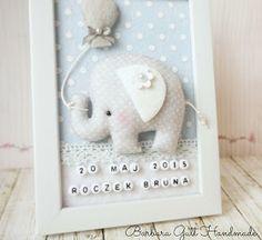 Barbara Handmade...: Słonik dla Bruna / Elephant for Bruno