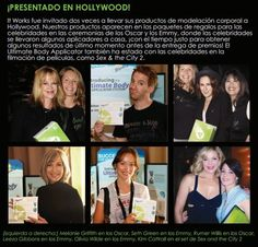 Featured in Hollywood! Presentado en Hollywood  www.getyourultimatebody.com