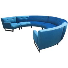 circular sectional sofa featuring polyvore home furniture sofas mid century modern furniture midcentury sofa round sofa