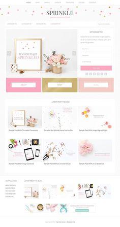 Website Design Inspiration for Elizabeth Ellery Design Websites, Web Design Tips, Layout Design, Website Design Layout, Design Design, Blog Layout, Rose Design, Brand Design, Website Design Inspiration