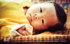 2016 - May Calendar: HRH Prince Jigme Namgye of Bhutan