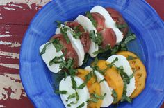 Caprese Salad ~ This simple dish always looks delectable and with Elena's tips will be delicious.