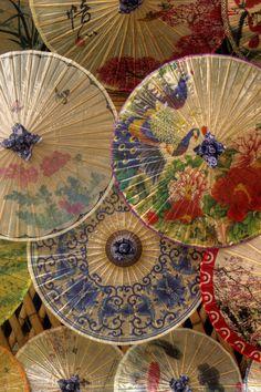 Oil-paper umbrellas
