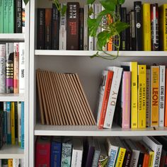 Our notebooks look great on any bookshelf too. Custom Notebooks, Bookshelves, Organization, Crafts, Getting Organized, Bookcases, Organisation, Manualidades, Book Shelves
