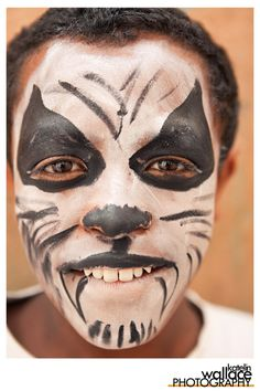 face paint in Africa!!!