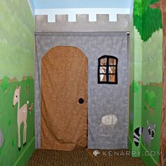 Hometalk :: Empty Closet Transformed Into Magical Playroom Hideaway
