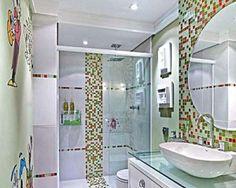 pastilhas para decorar banheiro