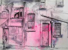 Laura Oldfield Ford benylin/tramadol dérive Barrow in Furness--------- Painting Inspiration, Art Inspo, Barrow In Furness, Art Diary, Urban Architecture, Building Art, A Level Art, Gcse Art, Built Environment