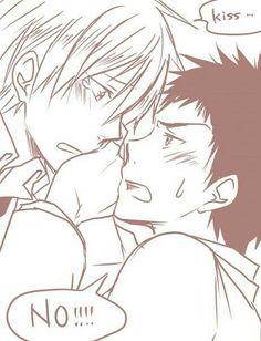 just one kiss, senpai