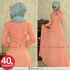 Zarif sırt detayı ile şıklığınızı tamamlayacak fırfırlı elbise İndirimle 290TL yerine 249TL >>40TL İNdirim!!! >>Whatsapp Sipariş: 90 553 880 2010 >>KARGO BEDAVA #alyazmacomtr #alyazma #tesettür #moda #elbise #tunik #ferace #abiye #style #muslimwear #hijab #instamoda #enşıksensin #clohting #hijabfashion #tesettürelbise #modatasarim #tesetturgiyim #tesettür #tesetturabiye #tesettur #kapidaodeme #alisveris