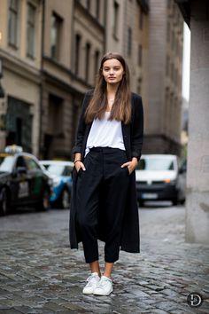 Trouser street style.