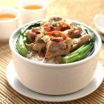 104 Steamed Rice with Chicken and Chinese Herbs
