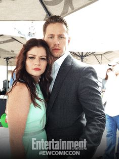 Emilie de Ravin, Josh Dallas, and Colin O'Donoghue, Once Upon a Time.