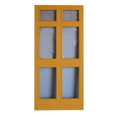 Screen Tight 36-in x 80-in Regal Full-View Tempered Glass Storm Door