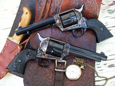 Genuine Colt Six Shooters**-**