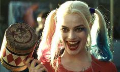 'Suicide Squad' Margot Robbie's Reaction is.: 'Suicide Squad' Margot Robbie's Reaction is Epic After Seeing Harley Quinn… Gotham City, Harley Quinn Et Le Joker, Margot Robbie Harley Quinn, Will Smith, Donald Glover, Cara Delevingne, Batgirl, Supergirl, Dc Universe