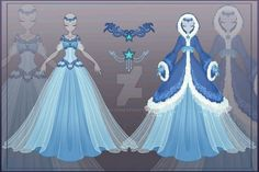 GRNT Crystal Azure :: [Close] Adoptable Outfit Auction 23 by LifStrange on DeviantArt Anime Kimono, Anime Dress, Dress Drawing, Drawing Clothes, Dress Sketches, Fashion Sketches, Drawing Fashion, Anime Outfits, Cool Outfits