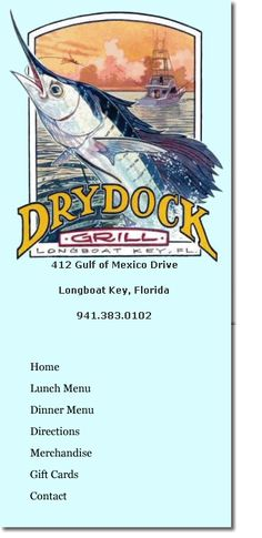 Restaurants, Dry Dock Waterfront Grill, Outdoor Dining, Sarasota, Florida,Sarasota Waterfront Dining,Sarasota Outdoor Dining,Sarasota Waterf... - Great reviews & beautiful water views!!!