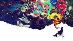 Imaginary Foundation Astronauts Colors Creativity Dreams