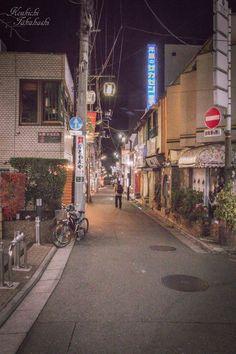 nostalgic stroll by Koukichi Takahashi on 500px 東京都世田谷区 下北沢 #tokyo #backalley #backshot #behind the back #ktpics #lights #night #nostalgic #old #outdoor #people #photography #shimokitazawa #street #stroll #town #townscape #vintage #wandered #500px