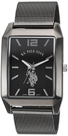 US Polo Assn Classic Mens Quartz Metal and Alloy Automatic Watch ColorBlack Model USC80383 *** Find out more about the great product at the image link.