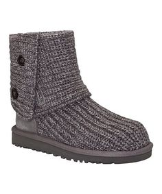 Love this Gray Classic Cardy Boot - Toddler & Girls on #zulily! #zulilyfinds
