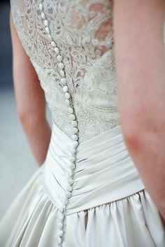Must Take Photos Of Your Wedding Dress ❤ See more: http://www.weddingforward.com/must-take-photos-wedding-dress/ #weddings