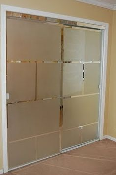 Goodbye Ugly Mirrored Closet Doors Hello Style How To